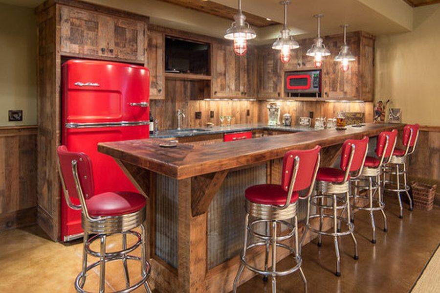 Яркие цвета в интерьере кухни - Фото 27