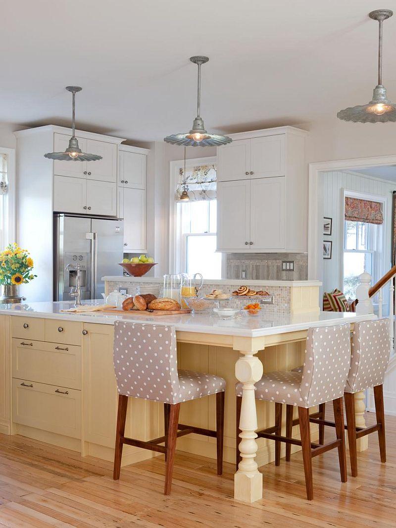 Яркие цвета в интерьере кухни - Фото 36