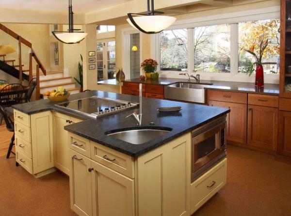 Современный кухонный остров