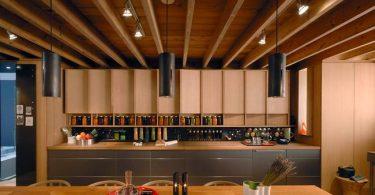 Закрытые кухни в интерьере современной квартиры
