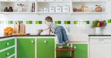 Может ли главенствовать зеленый цвет в интерьере кухни?